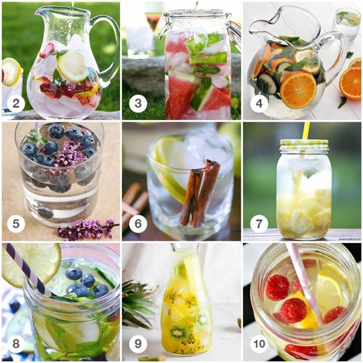 Recept Fruit- & kruidenwater